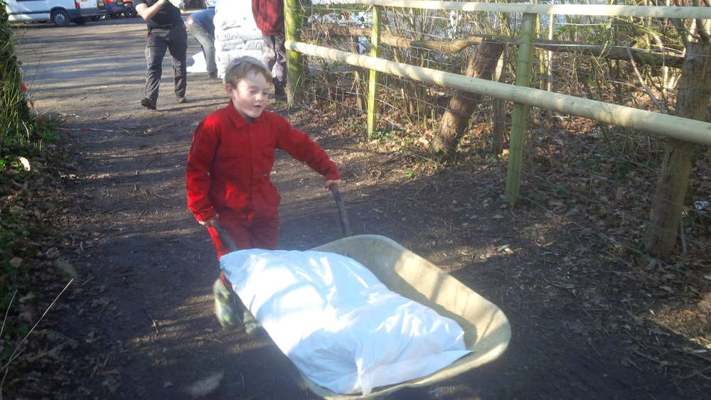 Completion of Adventure Play Area, Ross Wood